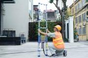 3 tiêu chí khi chọn mua thang nhôm cho công nhân điện lực