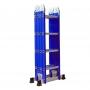 Thang nhôm gấp đa năng 4 đoạn Advindeq ADM104 - blue