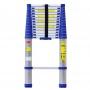 Thang nhôm rút gọn đơn Advindeq ADT214B (màu xanh)
