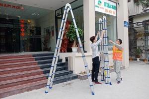 Làm thế nào để nhận biết một chiếc thang nhôm chính hãng?