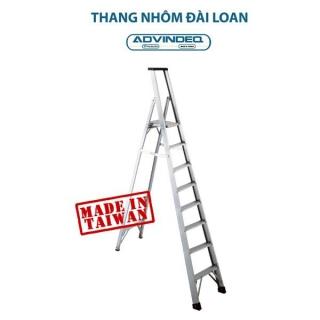 Thang nhôm chữ A Đài Loan 8 bậc Advindeq APS-08