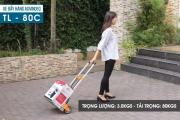 Xe đẩy hàng ADVINDEQ TL-80C  một sản phẩm không thể thiếu dành cho siêu thị